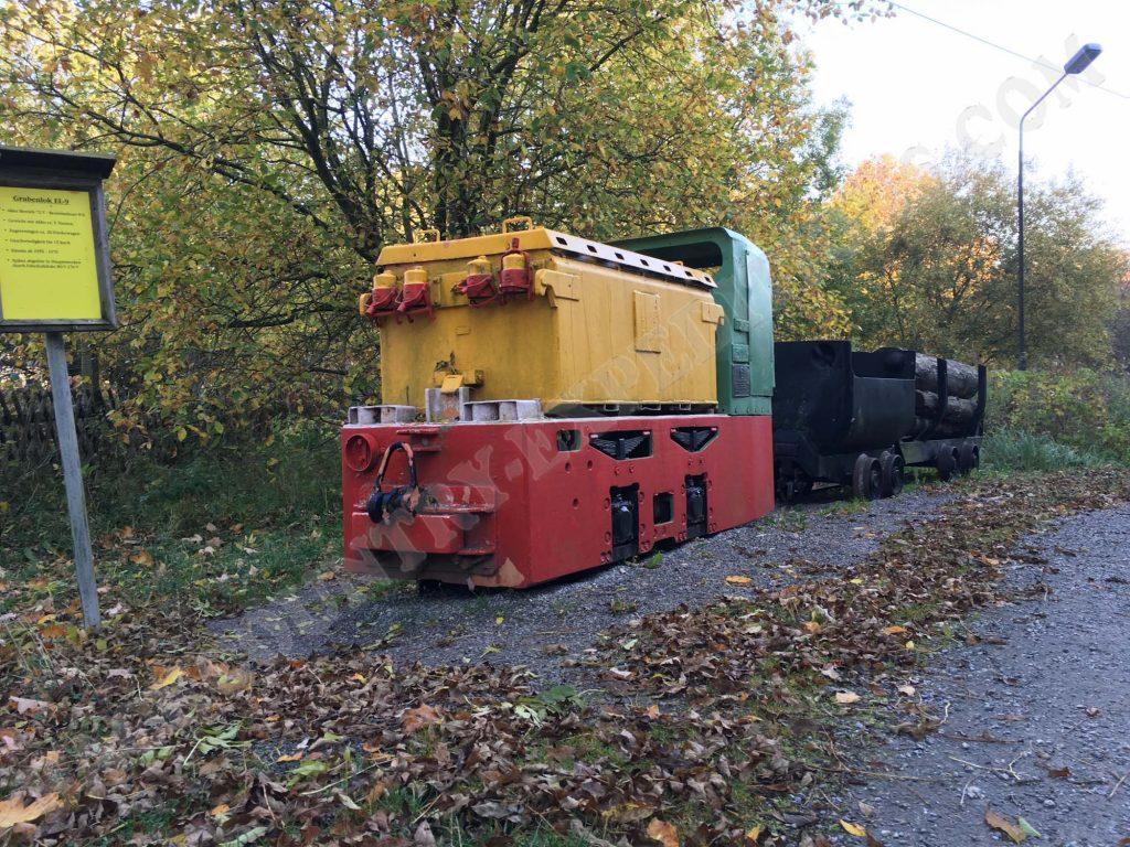 Grubenbahn im Oberharz