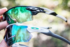 Oakley Radar EV vs. Radarlock