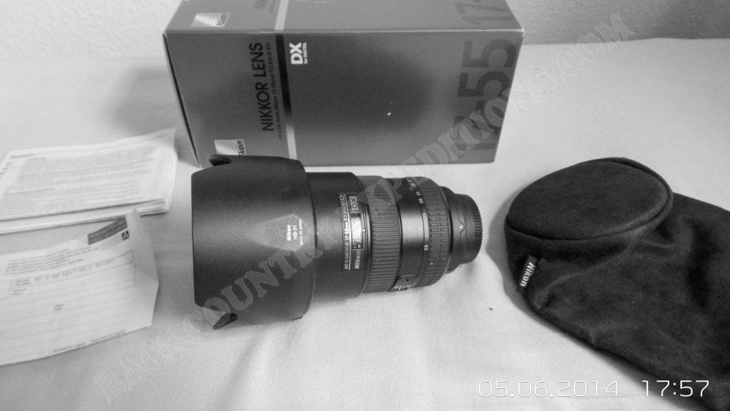 AF-S DX Zoom-Nikkor 17-55mm 1:2.8 G IF-ED