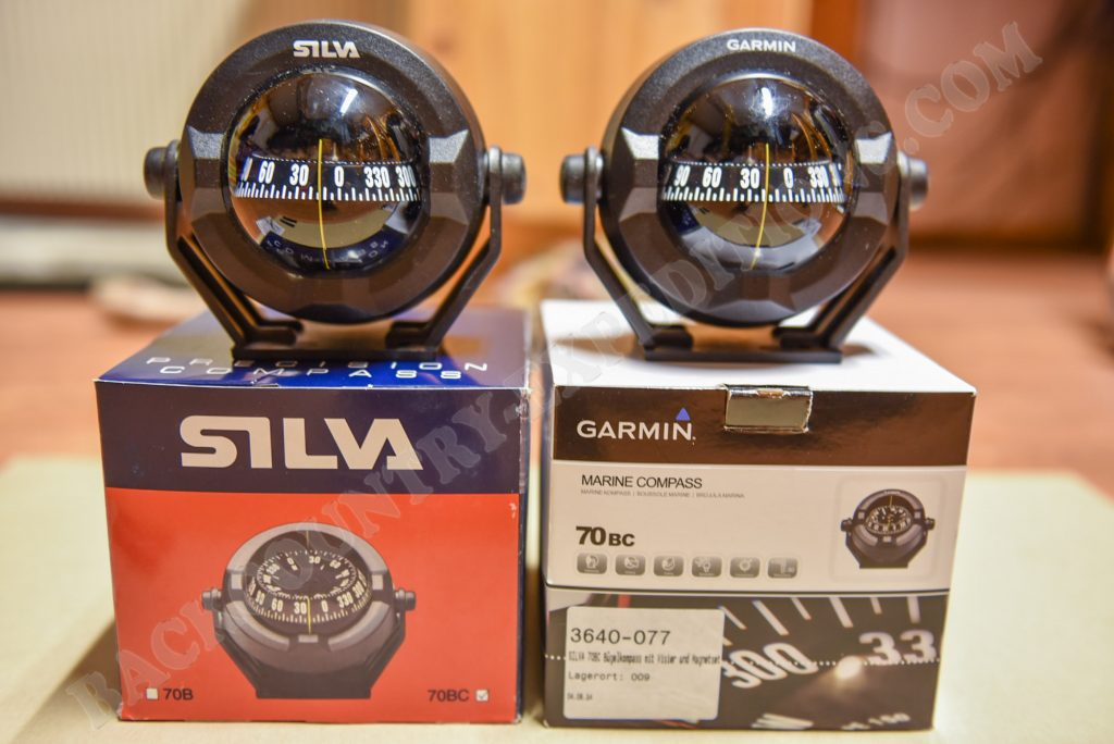 Silva vs. Garmin - Compass 70BC