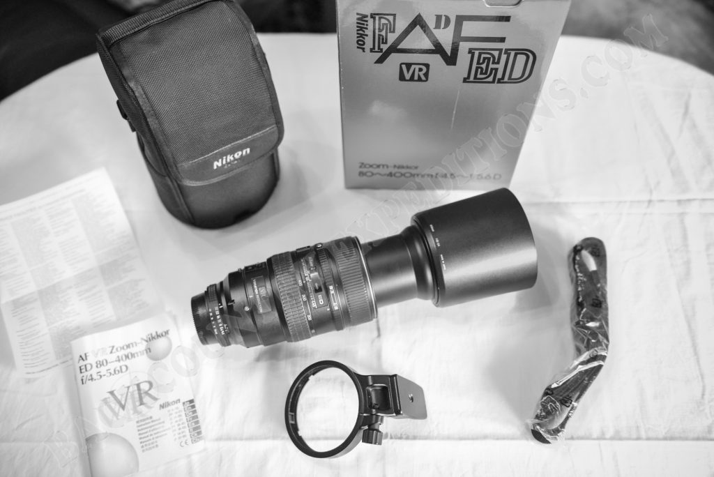 Nikkor 80-400mm 1:4.5-5.6 AF-D ED