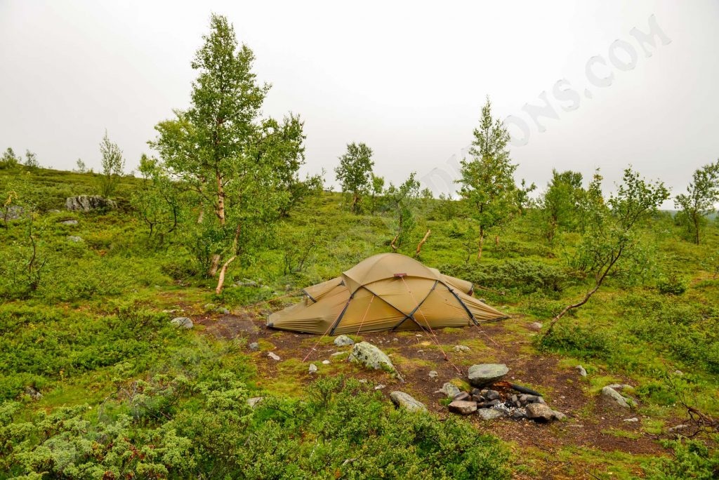 Hilleberg Saivo im Sarek Nationalpark Schweden