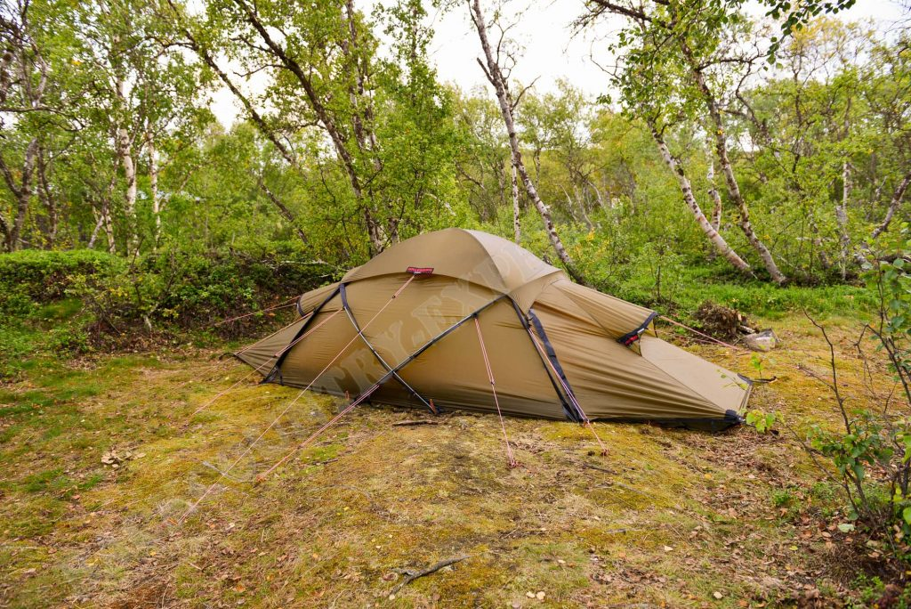 Hilleberg Saivo im Abisko Nationalpark Schweden