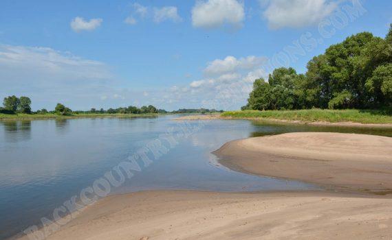 Deutschland: Elbe bei Magdeburg