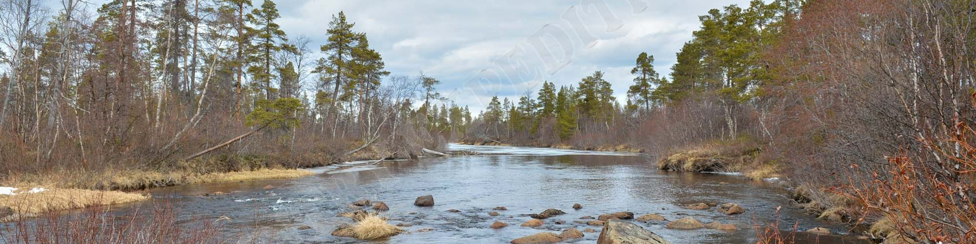 Finnland: Lemmenjoki & Ivalojoki