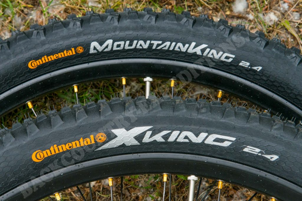 Continental MoutainKing 2.4 (VR) & CrossKing 2.4 (HR)