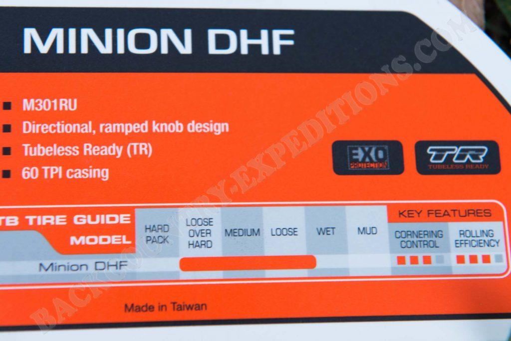 Maxxis Minion DHF & DHR