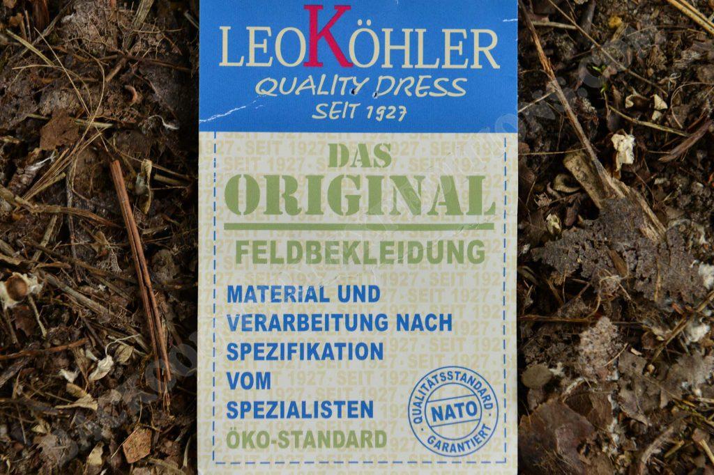 Leo Köhler Moleskin Feldhose & Kommando-Hose