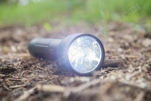 Maglite ML300LX Taschenlampe eingeschaltet helle Stufe