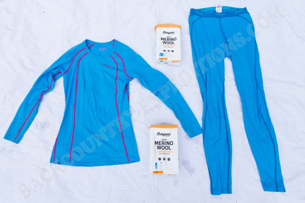 Bergans Fjellrapp Shirt & Tights Women