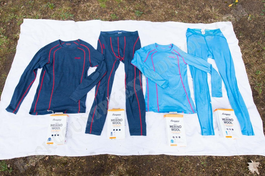 Bergans Fjellrapp Shirt & Tights