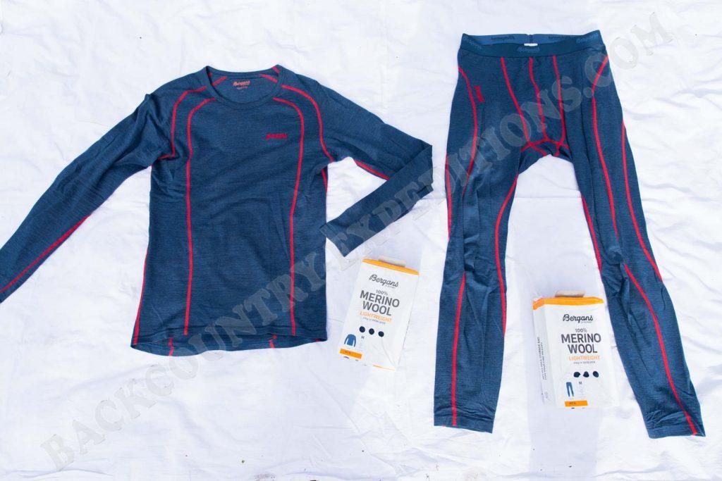 Bergans Fjellrapp Shirt & Tights