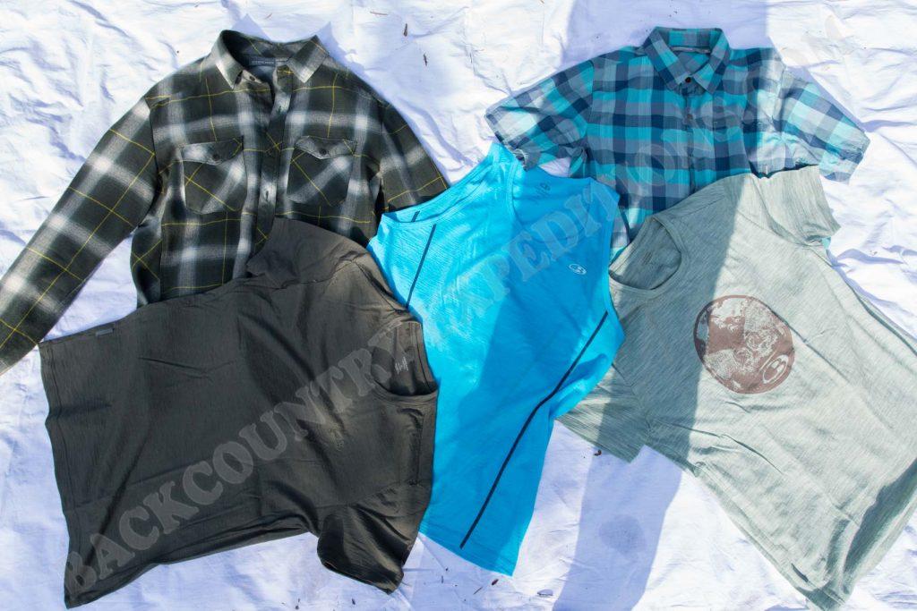 Erste und zweite Bekleidungsschicht aus Merinowolle