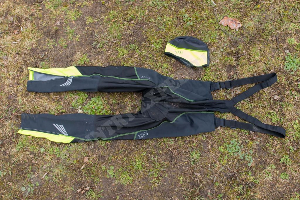 Gore Bike Wear Windstopper Softshell Bibtights