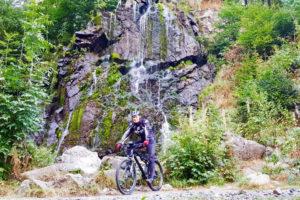 Sascha am Wasserfall bei Bad Harzburg