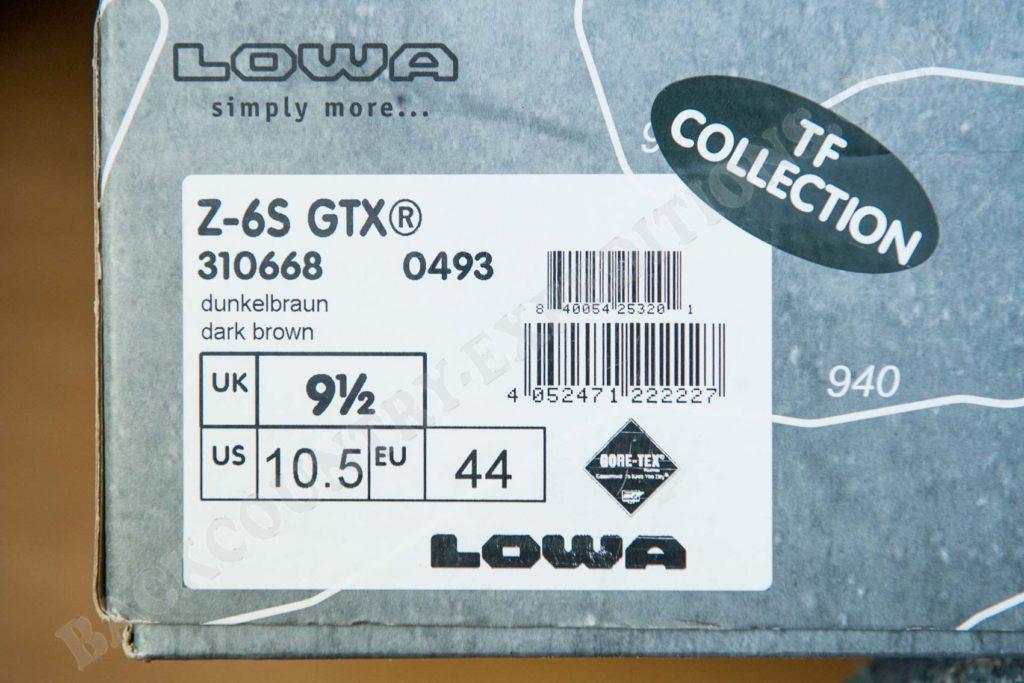 Lowa Z-6S GTX