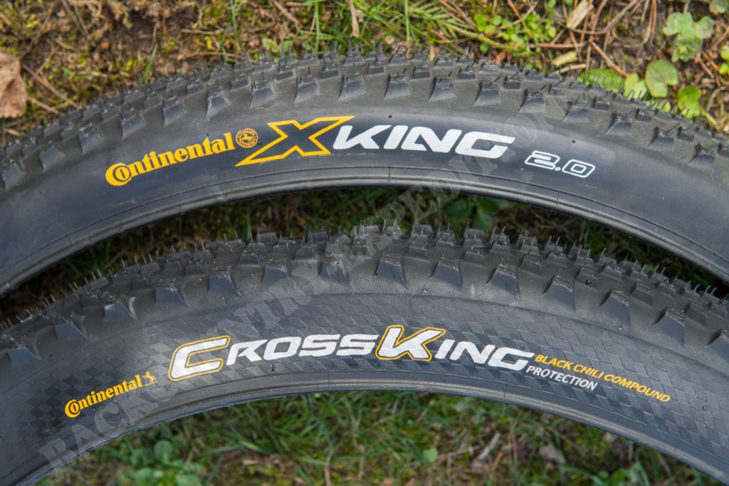 X-King RaceSport 2.0 vs. CrossKing Protection 2.3