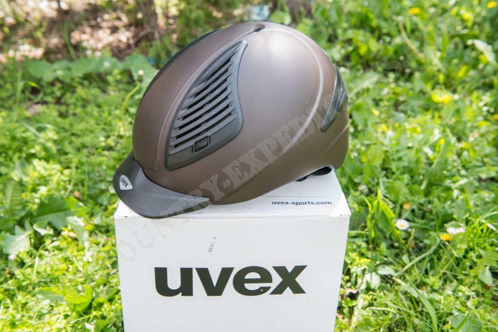Uvex Exxential I mattbraun
