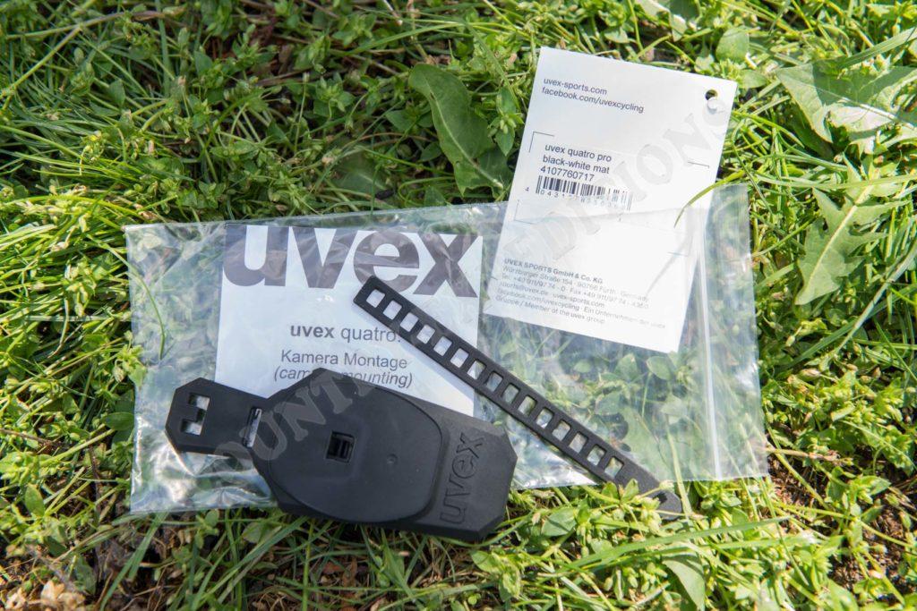 Uvex Quatro pro schwarz-weiß