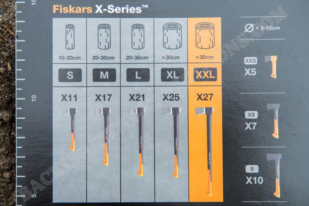 Fiskars Spaltaxt X27
