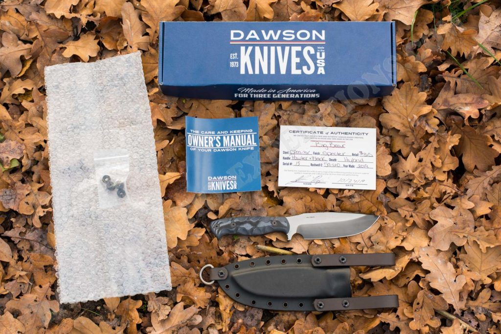 Dawson Big Bear knife