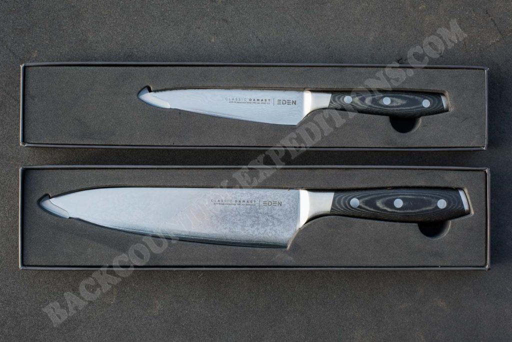 EDEN AUS-10 Damast Kitchen Knives