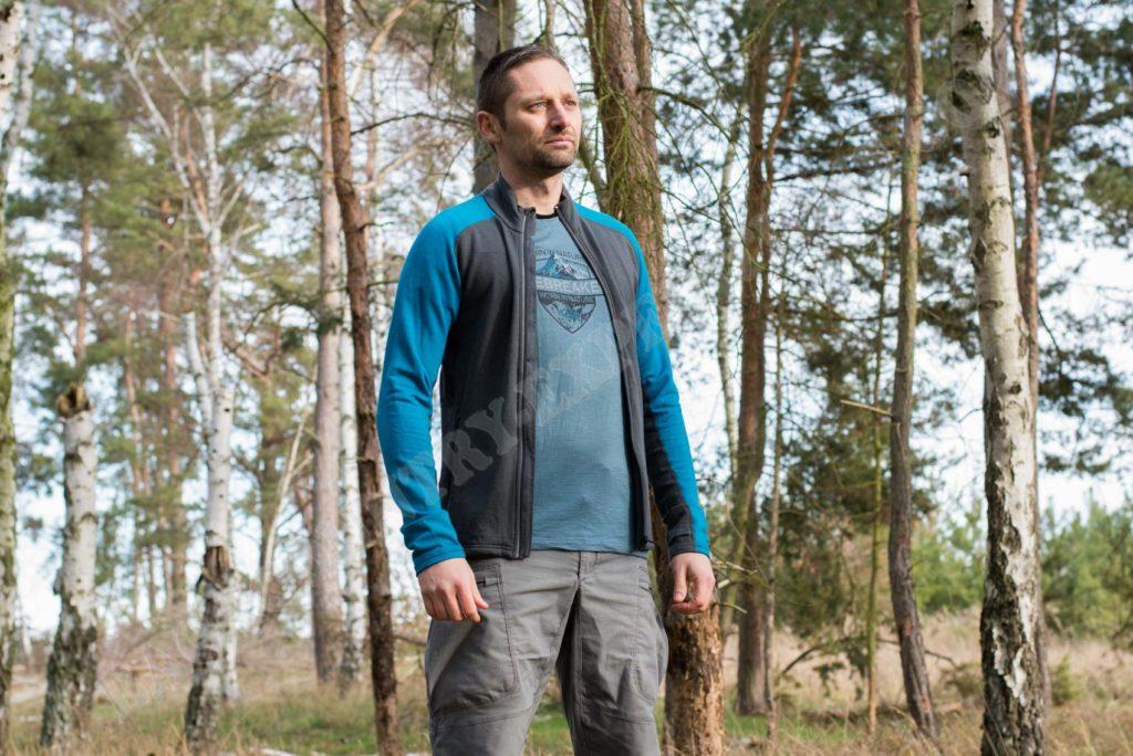 Icebreaker Quantum LS Zip Jacket