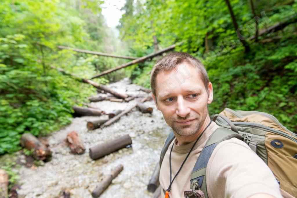 Auf einer Tagestour im slowakischen Paradies Nationalpark
