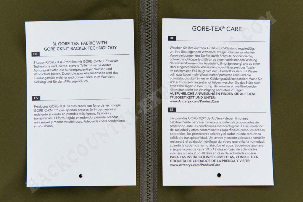 Arc`teryx Zeta AR Jacket Men´s Anwendungsbereich