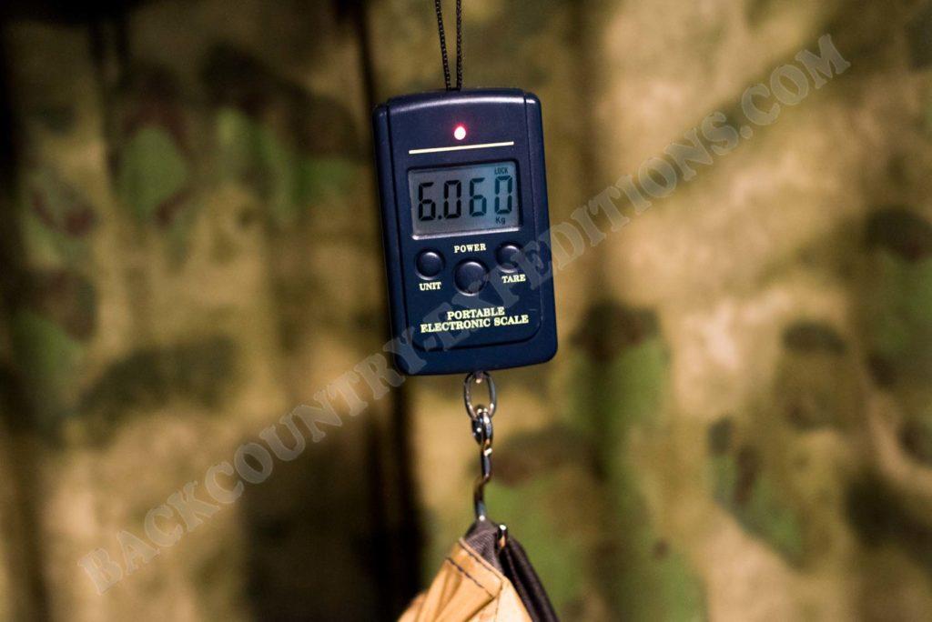 Hilleberg Saivo Gewicht