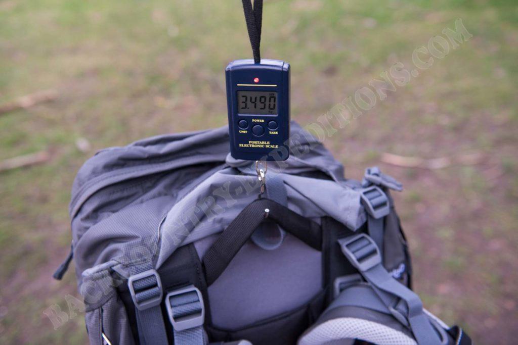 Deuter Aircontact Pro 65 + 15 SL Gewicht