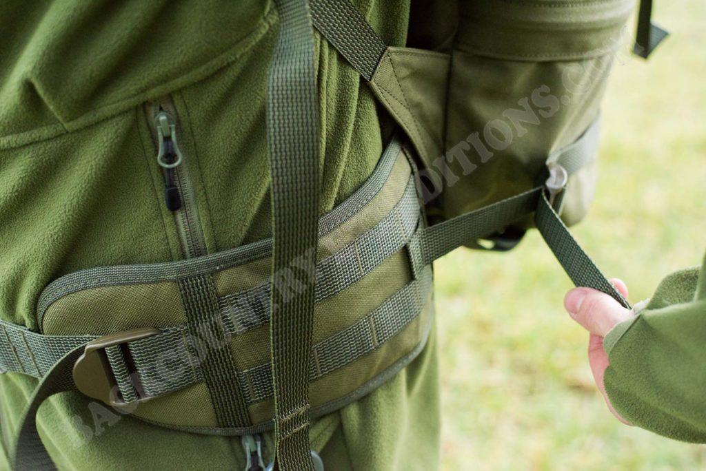 Savotta Grenzjäger Hüftflossen mit Lageverstellriemen