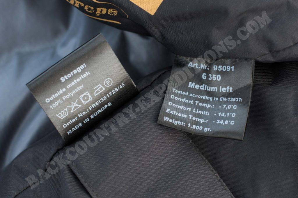 Carinthia G350 Material
