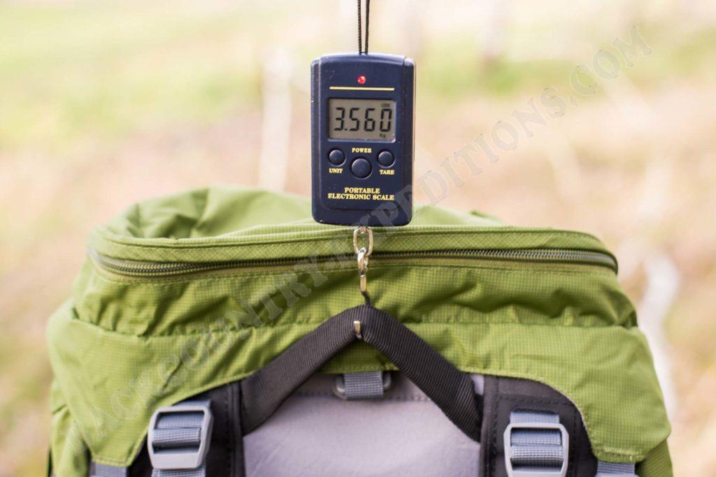 Deuter Aircontact Pro 70+15 Gewicht