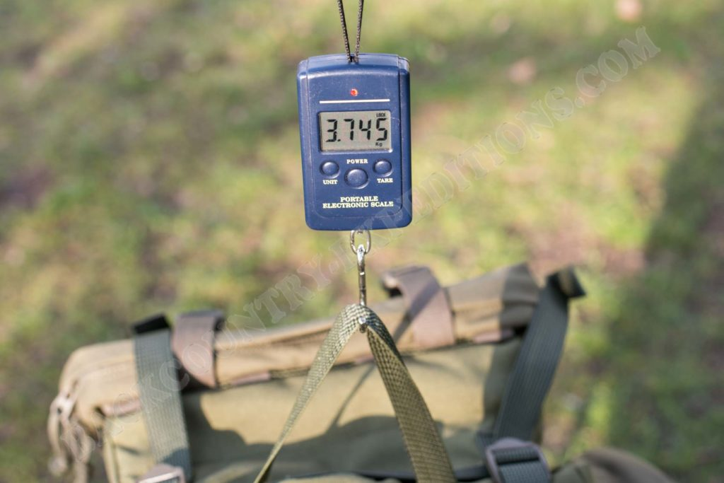 Savotta Jäger L Gewicht mit Modifikationen