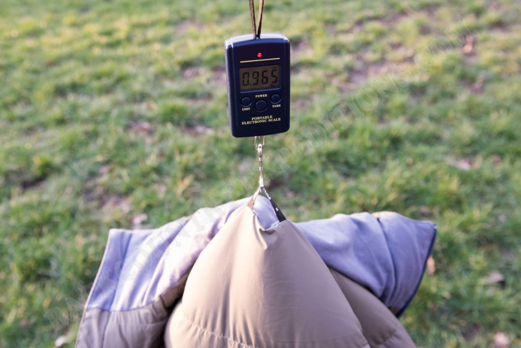Bergans Sauda Down Jacket Gewicht