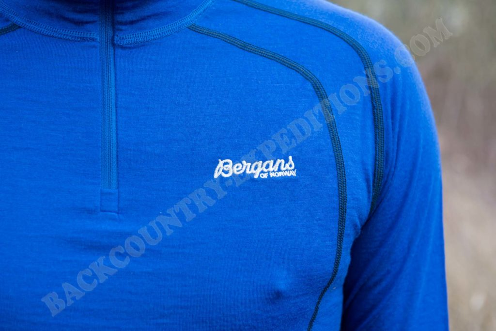 Bergans Fjellrapp Half Zip Royal Blue