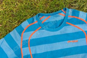 Bergans Fjellrapp Tee ocean striped