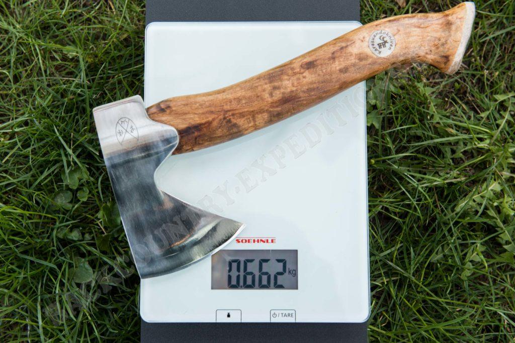 Karesuando Hunters Axe Gewicht