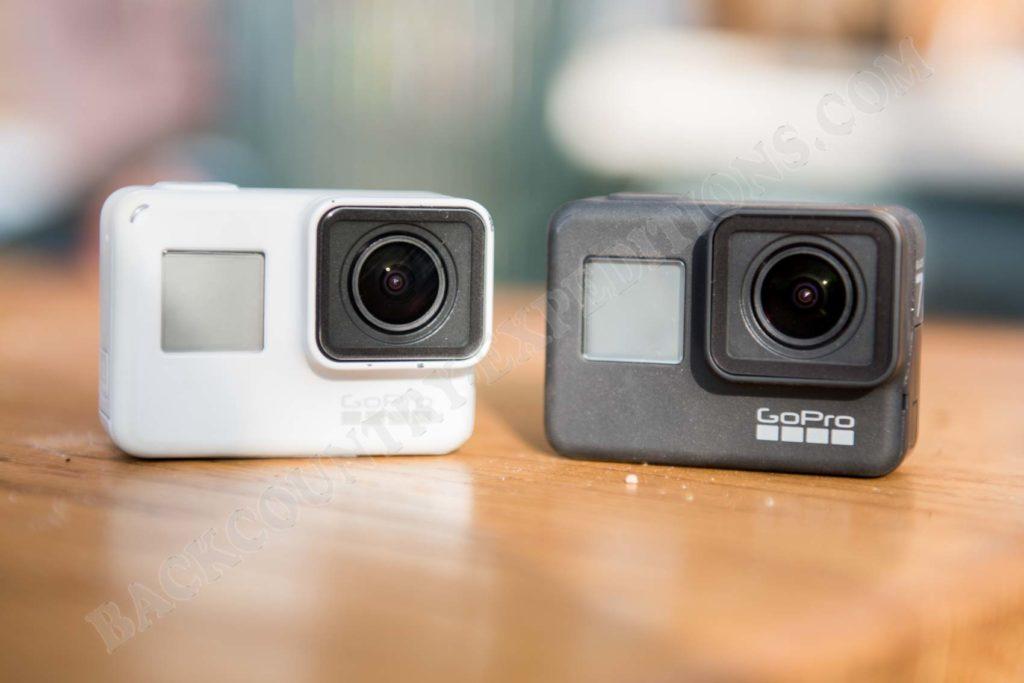 GoPro Hero 7 black vs. white