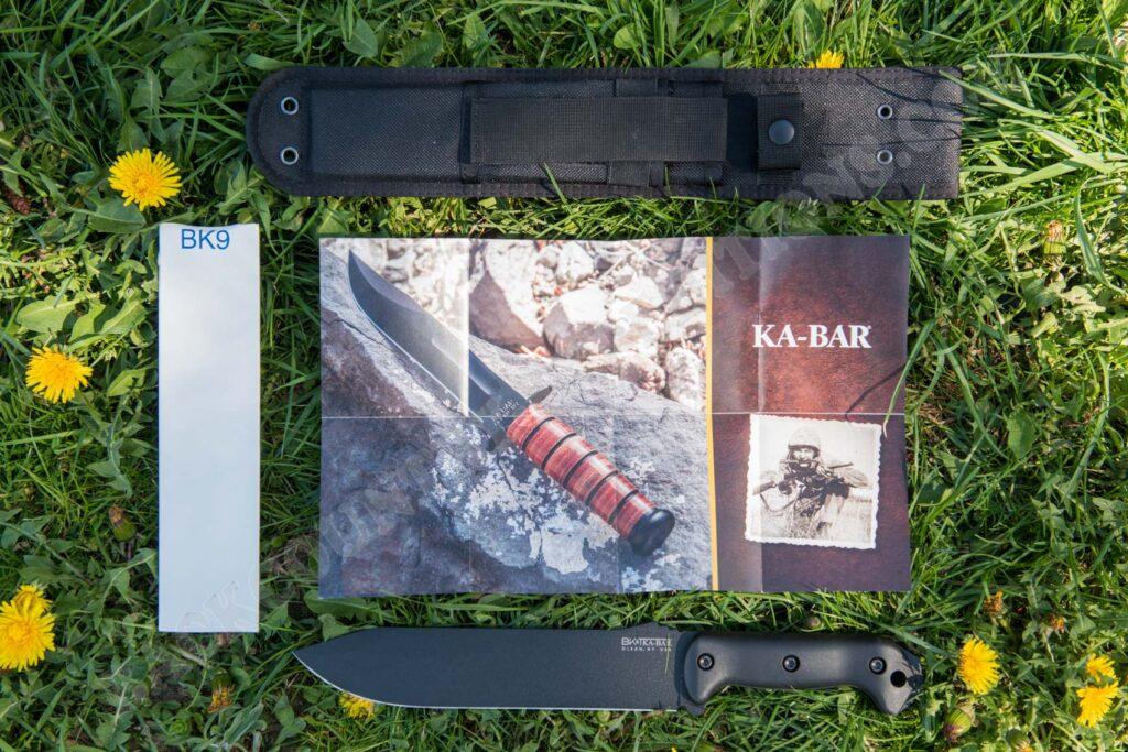 Ka-Bar BK9 Becker Combat Bowie