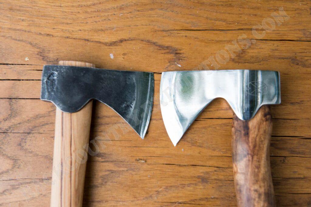 Gränsfors Wildmarksbeil vs. Karesuando Hunters Axe