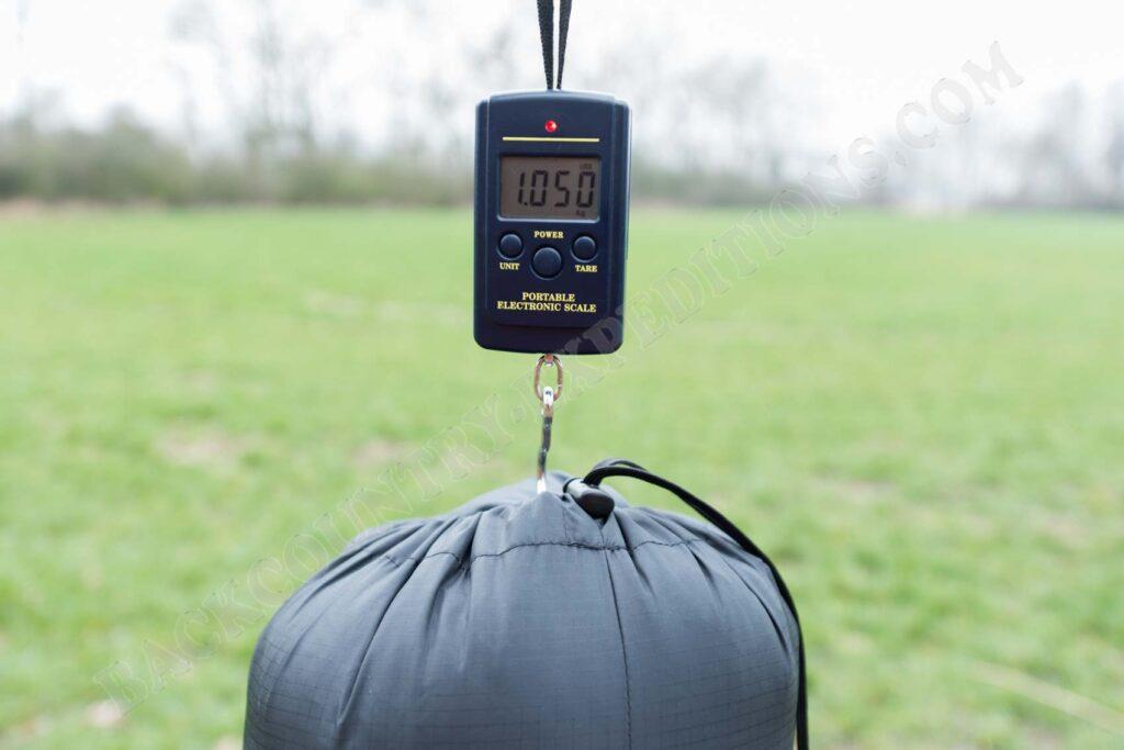 Western Mountaineering Apache Gewicht