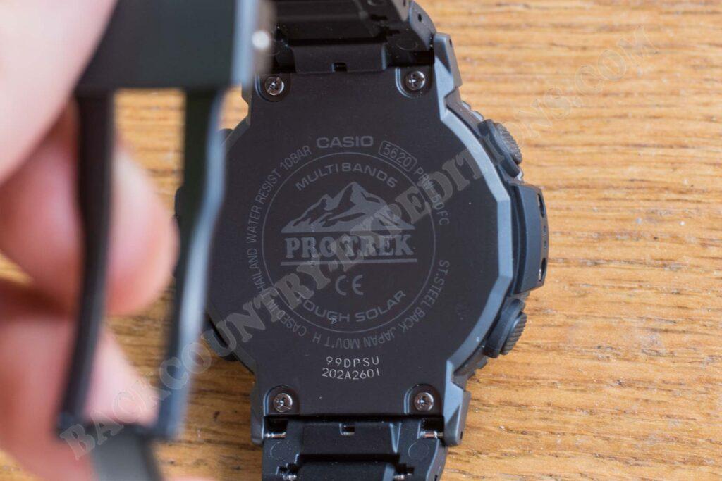 Casio Pro Trek PRW-50 FC-1ER Deckel