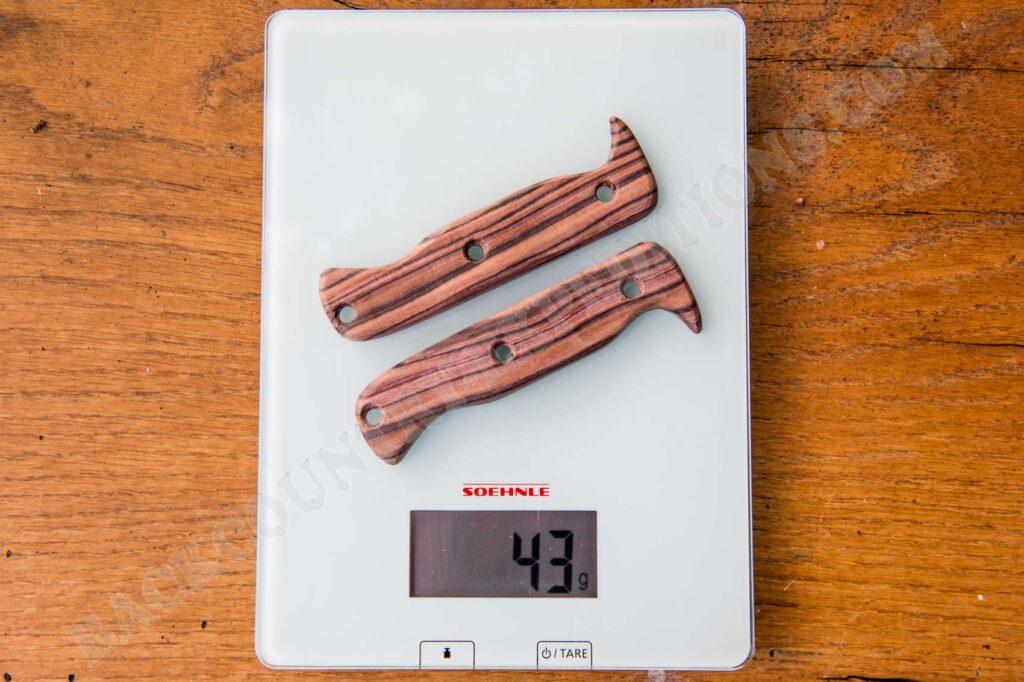Spyderco Province wood handles