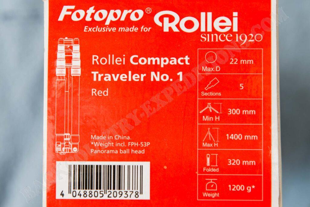 Rollei Compact Traveler No. 1 Technische Daten