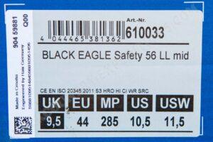 HAIX Black Eagle Safety 56 LL mid