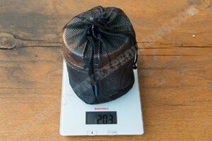 Snow Peak Titanium Trek 1400 Gewicht