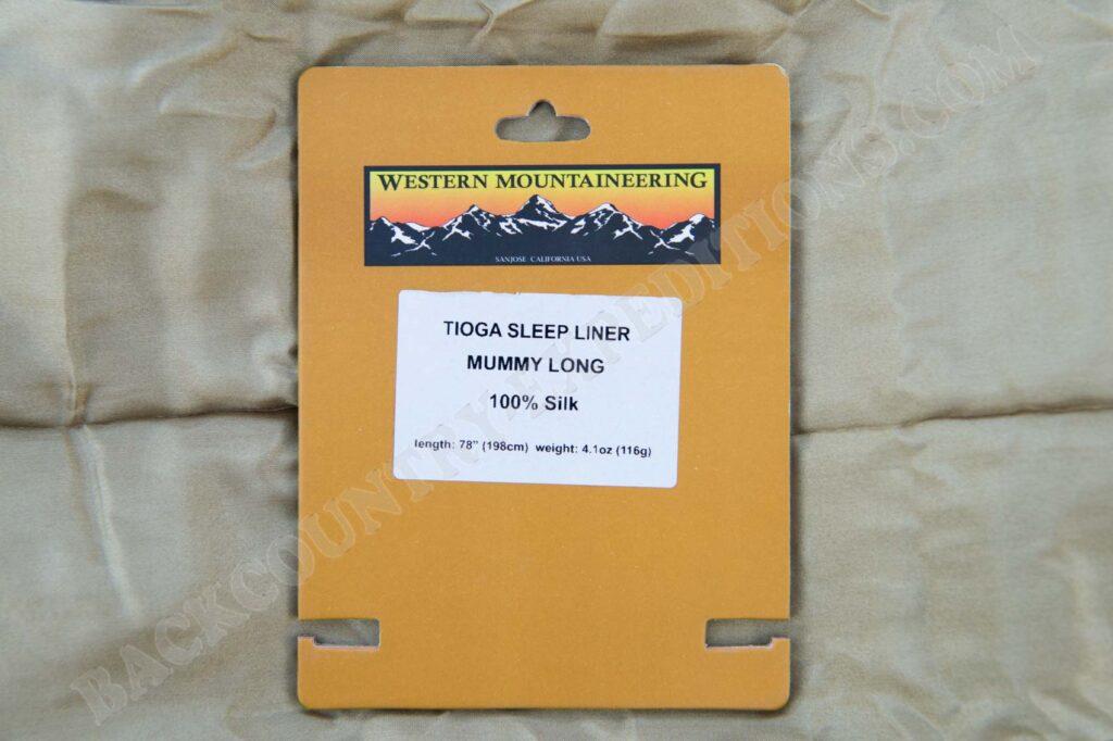 Western Mountaineering Tioga Sleep Liner