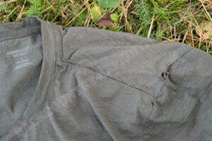 Icebreaker Mens Tech Lite Short Sleeve Crewe damage